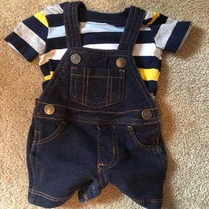 Carter's Newborn Shortalls